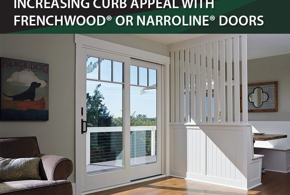 Increasing Curb Appeal with Frenchwood® or Narroline® Doors