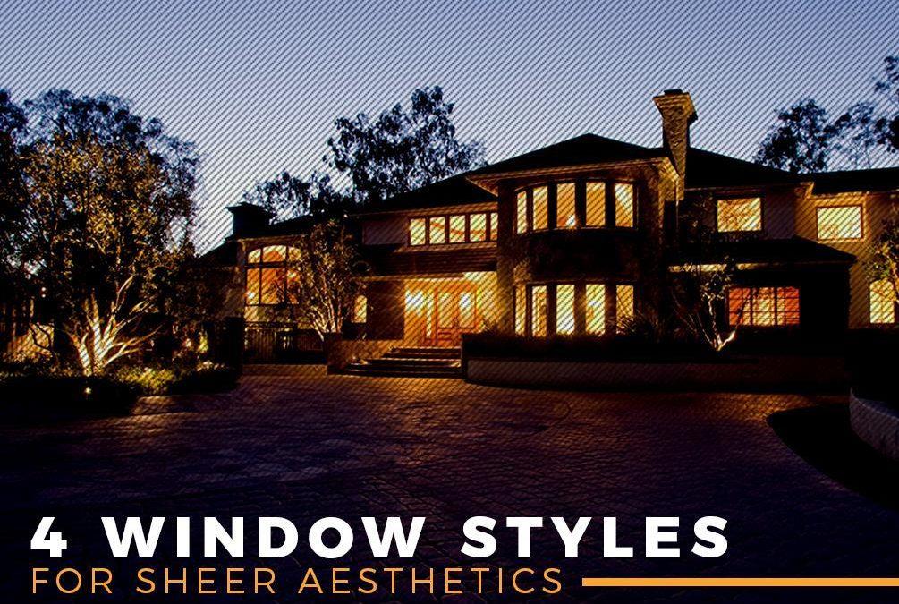 4 Window Styles for Sheer Aesthetics