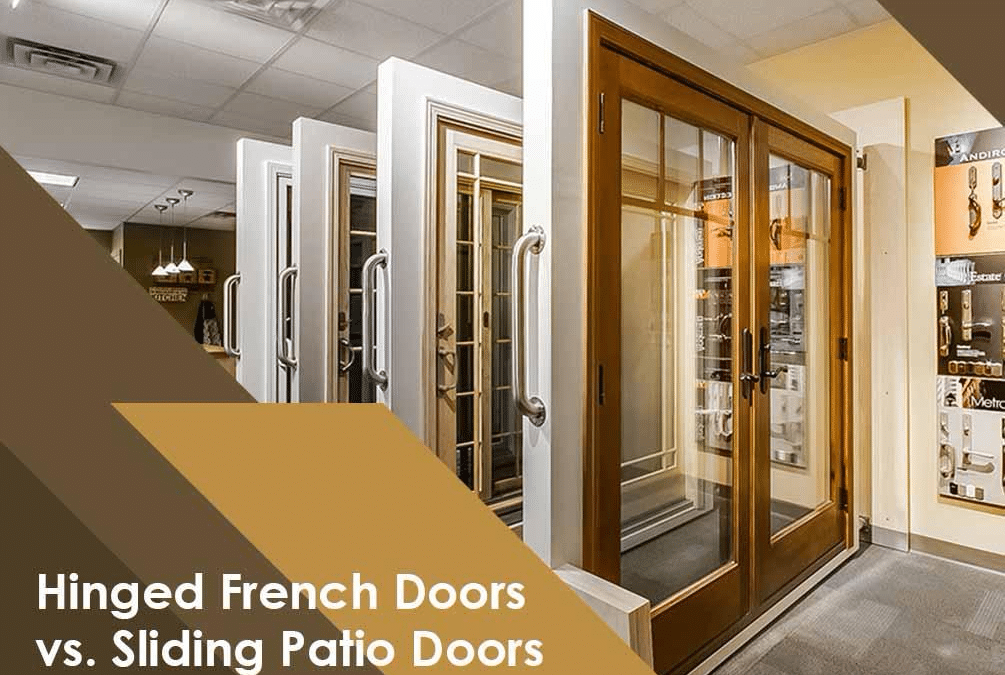 Hinged French Doors vs. Sliding Patio Doors
