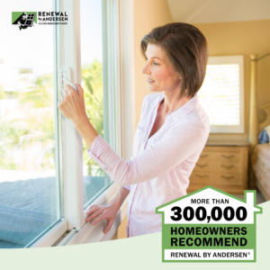 More than 300,000 homeowners recommend renewal by Andersen